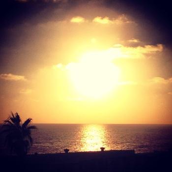Setting Sun Over Laguna - No Edits