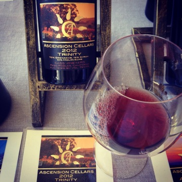 New Paso Robles find- Ascension Cellars from Cass Vineyards. Amazing wines, the Trinity was so great I arranged to buy two bottles! One for decanting now, and one for aging and enjoying later! Surprising - not a Pinot Noir!