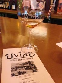 Dinner at D'Vine