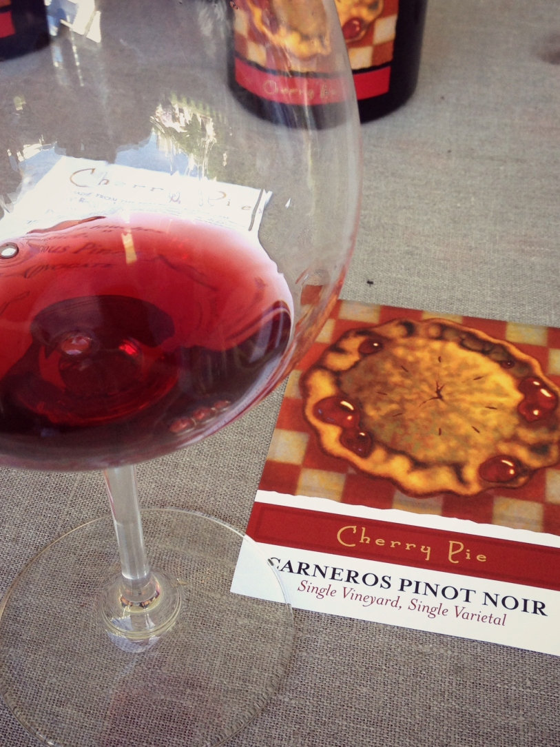 Cherry Pie - Pinot Noir, showing that Carneros is no joke for this fickle grape.