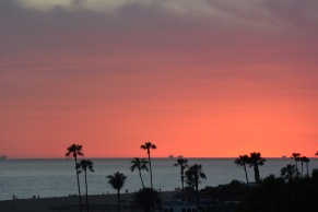 Corona del Mar Sunset - March