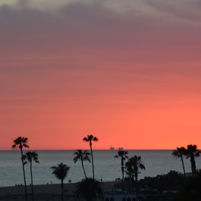 Corona del Mar Sunset - March