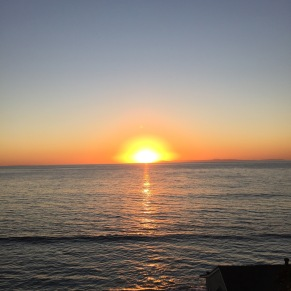 Sunset at the Deck in Laguna