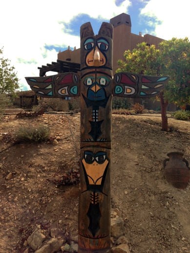Wild Coyote Totem Pole