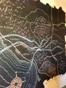 Aeqourea had this awesome chalk map above their tasting table at the Paso Underground. http://www.aaronwines.com/pages/aequorea-wines