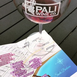 Pali Wine Co was our first stop on the patio, and spent some time planning the rest of our day in the Funk Zone and the Urban Wine Trail