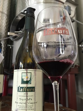 Nothing says Santa Barbara Syrah like Jaffurs. A bit off the path, well worth the trip!