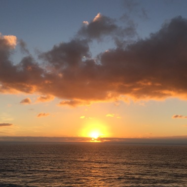 Sunday night sunset in at Rooftop in Laguna Beach via iPhone 6