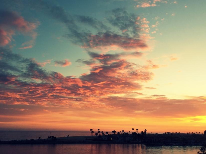 No words, Newport Beach sunset