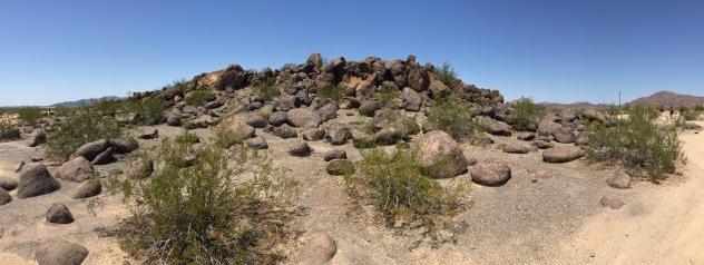 Painted Rock Petroglyph